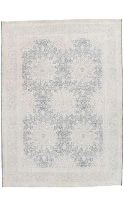 10 x 13 Vintage Persian Kerman Rug 53393