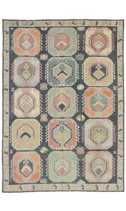 9 x 13 Turkish Oushak Rug 53409