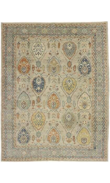 10 x 13 Turkish Oushak Rug 53410