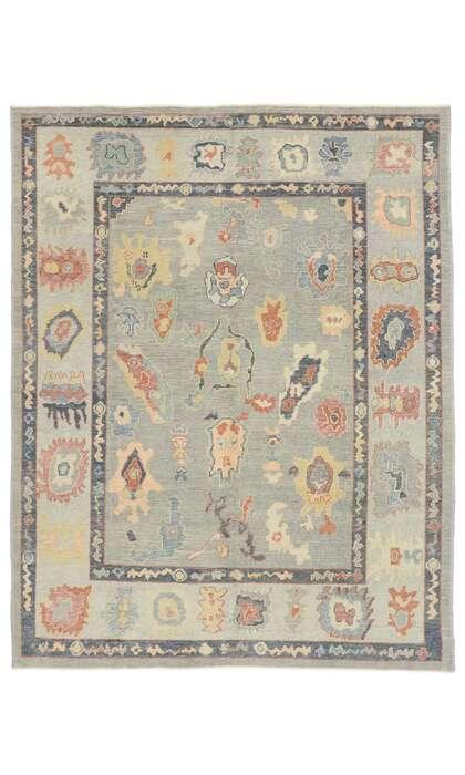 8 x 10 Turkish Oushak Rug 53418