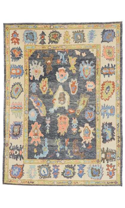 8 x 11 Turkish Oushak Rug 53456