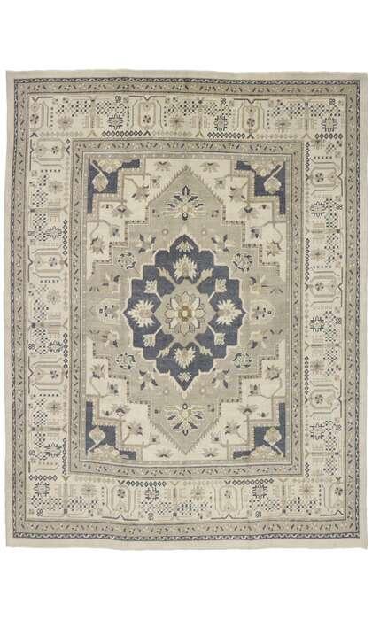 10 x 13 Turkish Oushak Rug 53461