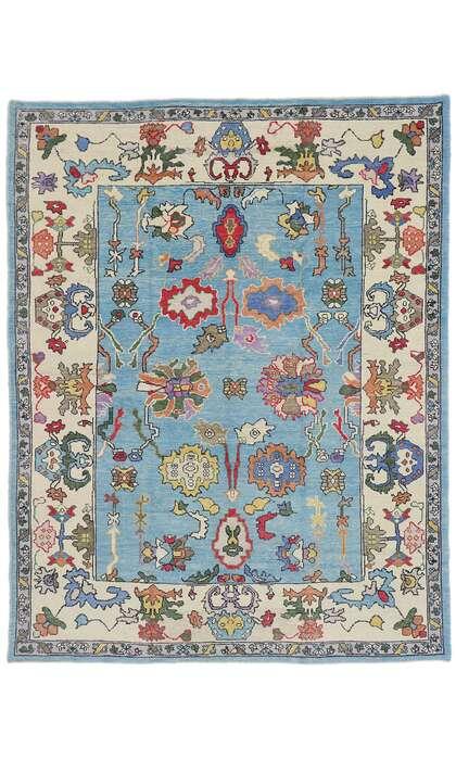 8 x 11 Turkish Oushak Rug 53468