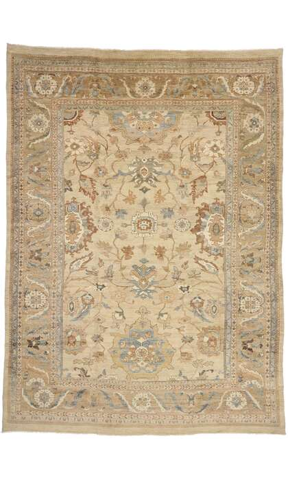 13 x 18 Contemporary Persian Sultanabad Rug 76553
