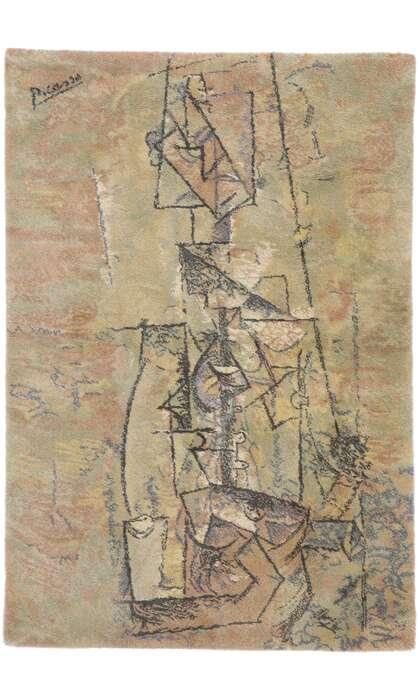 5 x 7 Vintage Scandinavian Ege Art Line Tapestry 77580