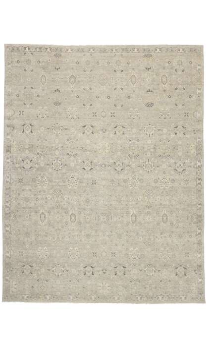 12 x 15 Contemporary Indian Oushak Rug 30618