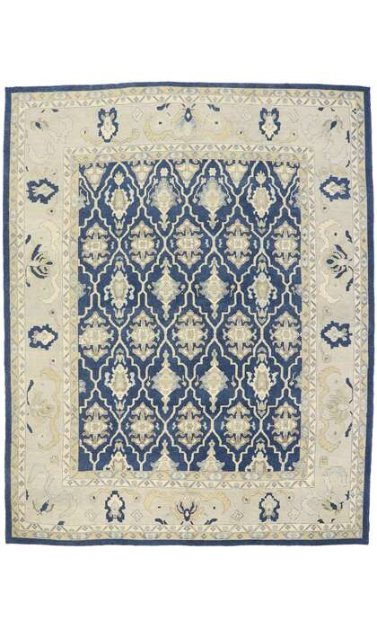 12 x 15 Contemporary Turkish Oushak Rug 53506