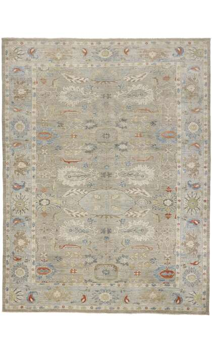 12 x 16 Contemporary Persian Sultanabad Rug 60860