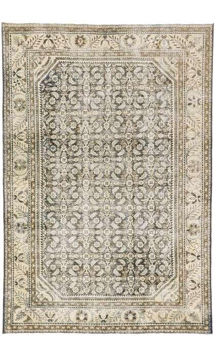 8 x 11 Antique Persian Mahal Rug 608648 x 11 Antique Persian Mahal Rug 60864