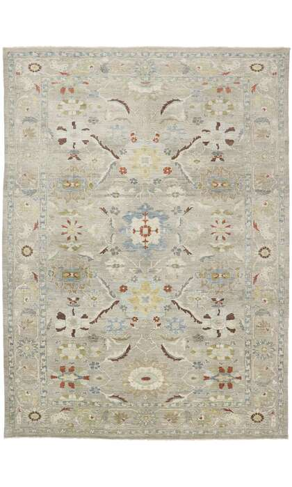 10 x 13 Contemporary Persian Sultanabad Rug 60866