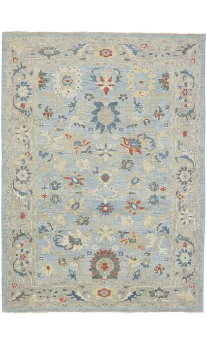 9 x 12 Contemporary Persian Sultanabad Rug 60867