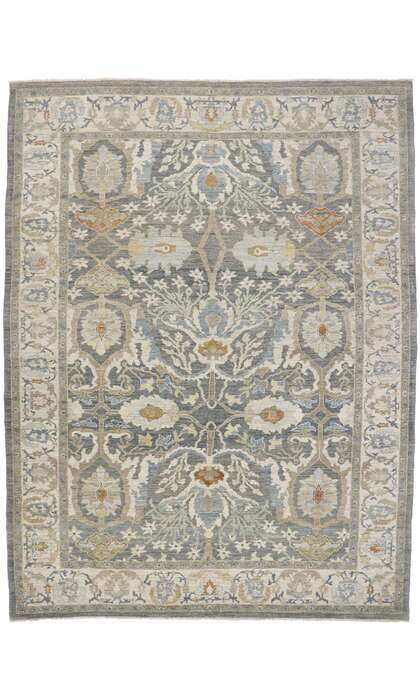 11 x 14 Contemporary Persian Sultanabad Rug 60868
