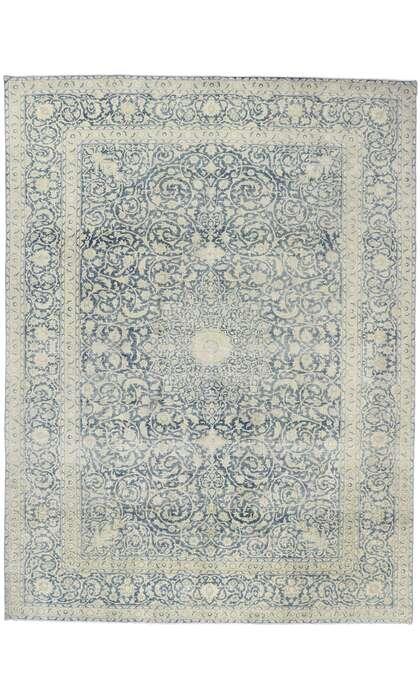 10 x 13 Antique Persian Tabriz Rug 60869