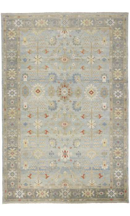 12 x 18 Contemporary Persian Sultanabad Rug 60871