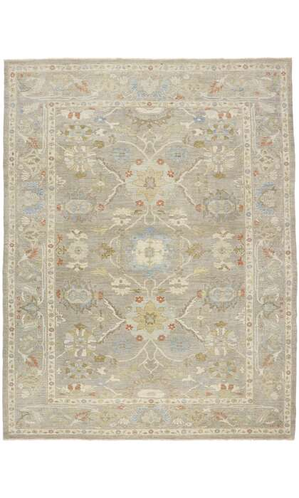10 x 14 Contemporary Persian Sultanabad Rug 60873