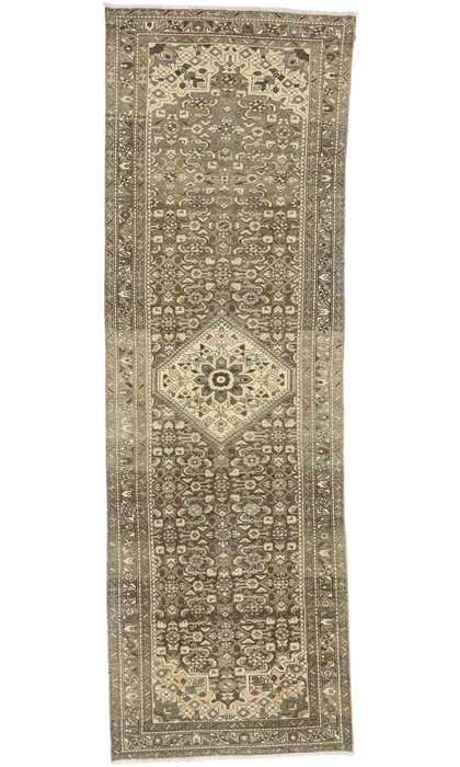 3 x 10 Antique Persian Mahal Runner 60877