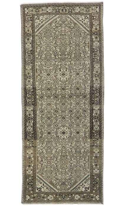 4 x 9 Antique Persian Mahal Runner 60878