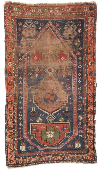 3 x 5 Antique Persian Shiraz Rug 77659