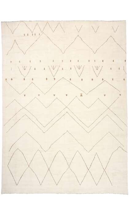 16 x 22 Contemporary Moroccan Rug 80655