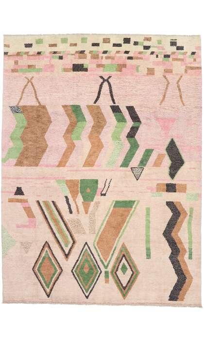 10 x 14 Contemporary Moroccan Rug 80662