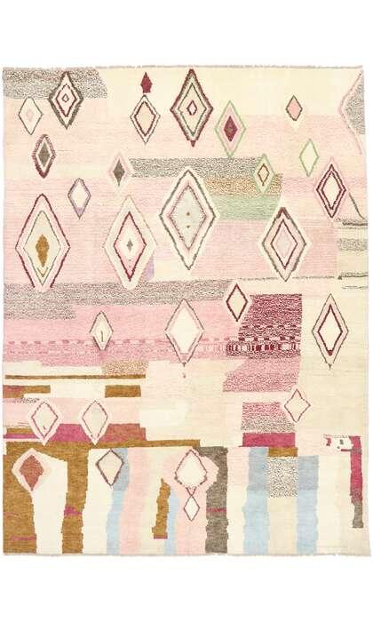 10 x 14 Contemporary Moroccan Rug 80663