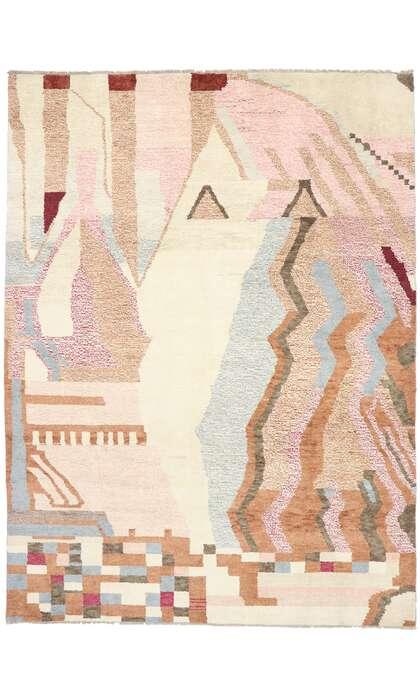 10 x 14 Contemporary Moroccan Rug 80664