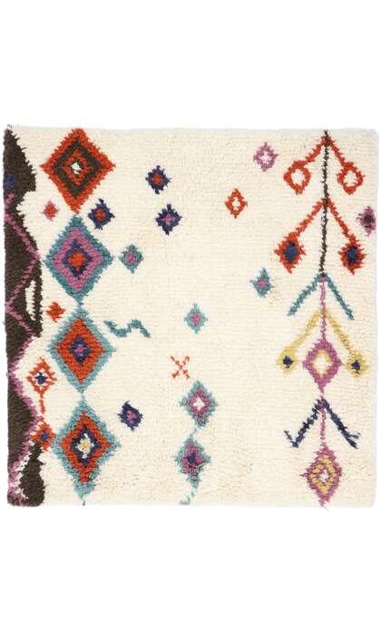 3 x 3 Contemporary Moroccan Rug 30646