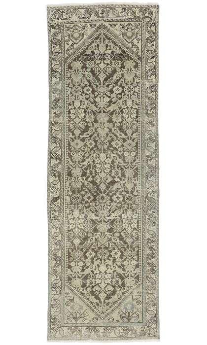 4 x 10 Antique Persian Mahal Runner 60879