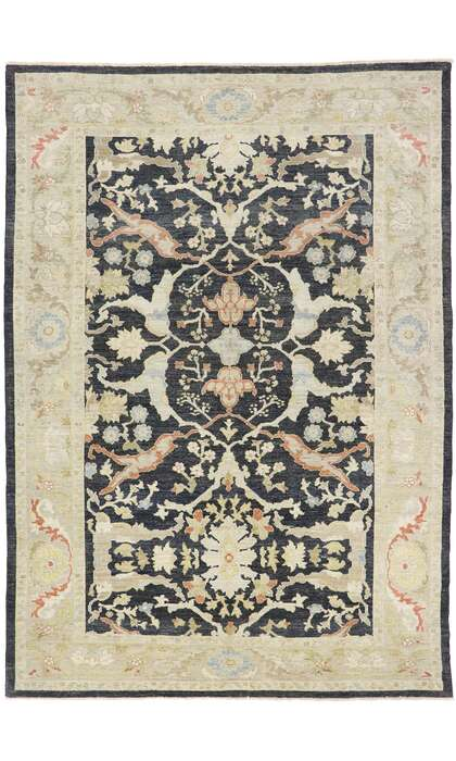 9 x 13 Contemporary Persian Sultanabad Rug 60884