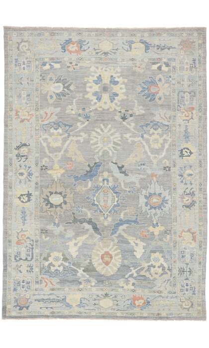8 x 12 Contemporary Persian Sultanabad Rug 60886
