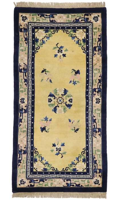 3 x 6 Antique Chinese Peking Rug 77590