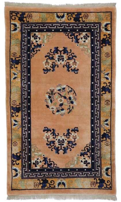 3 x 5 Antique Chinese Peking Rug 77591