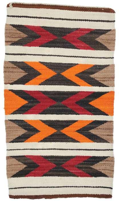 2 x 3 Vintage Navajo Kilim Rug 77779