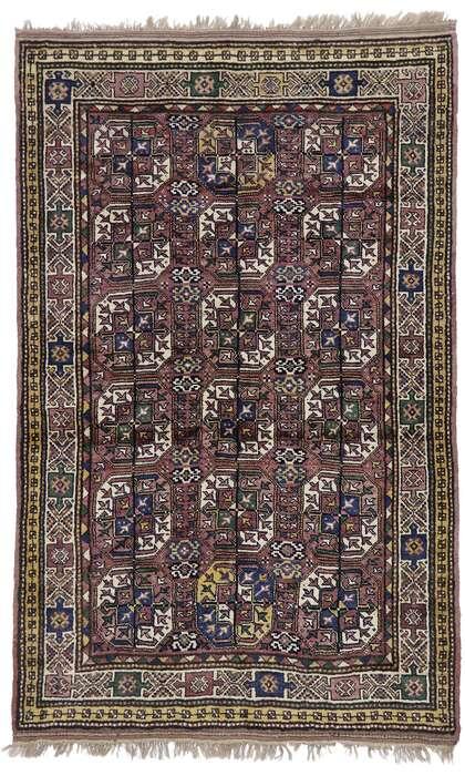 5 x 8 Antique Turkaman Rug 60892