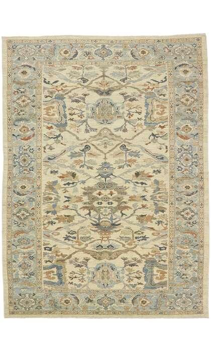 10 x 14 Contemporary Turkish Sultanabad Rug 60898