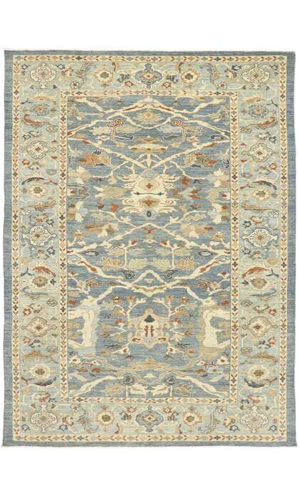 9 x 12 New Contemporary Persian Sultanabad Rug 60900