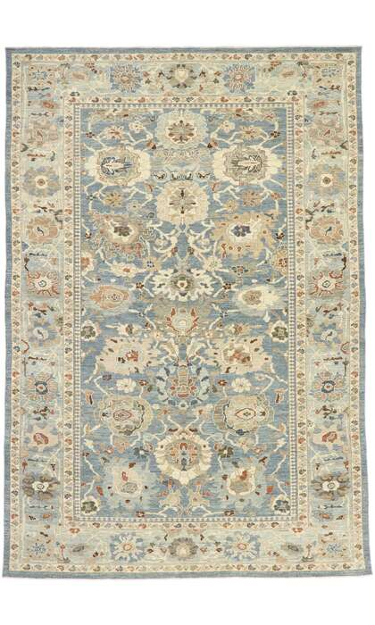 10 x 14 New Contemporary Persian Sultanabad Rug 60905