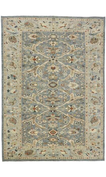 10 x 14 Contemporary Turkish Sultanabad Rug 60909