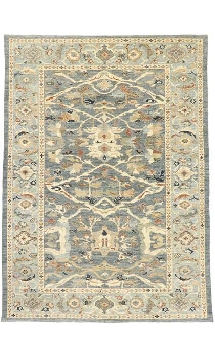 9 x 12 New Contemporary Persian Sultanabad Rug 60912