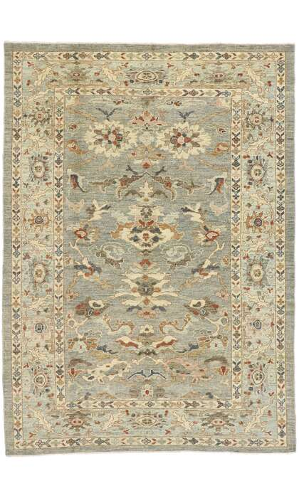 7 x 9 New Contemporary Persian Sultanabad Rug 60913