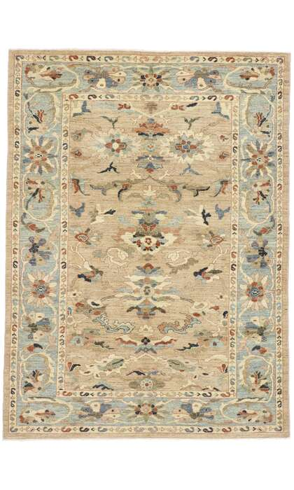 7 x 9 New Contemporary Persian Sultanabad Rug 60918