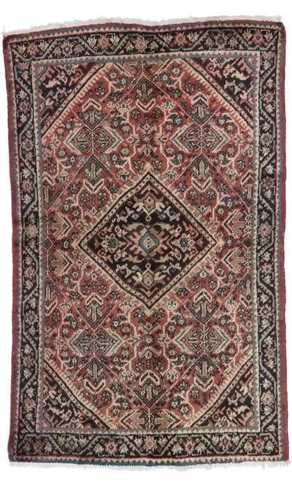 4 x 6 Vintage Persian Mahal Rug 77688