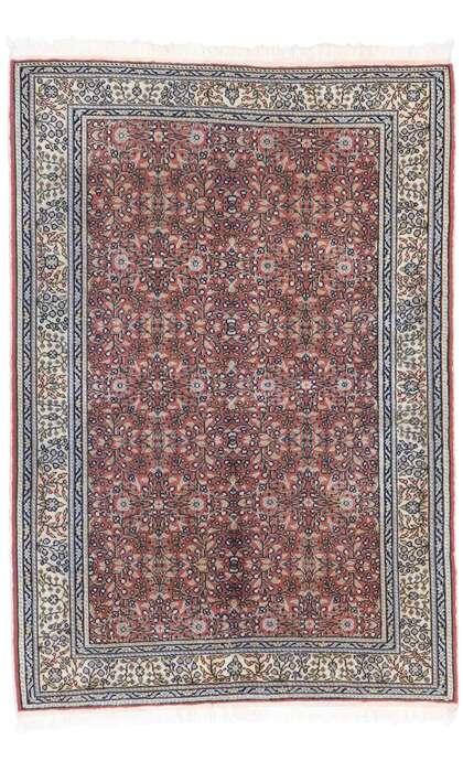 4 x 6 Antique Turkish Sivas Rug 77689