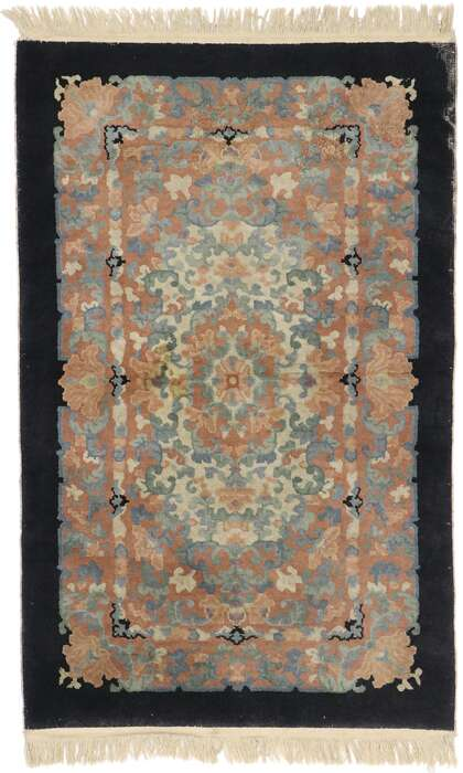3 x 5 Antique Chinese Rug 77782
