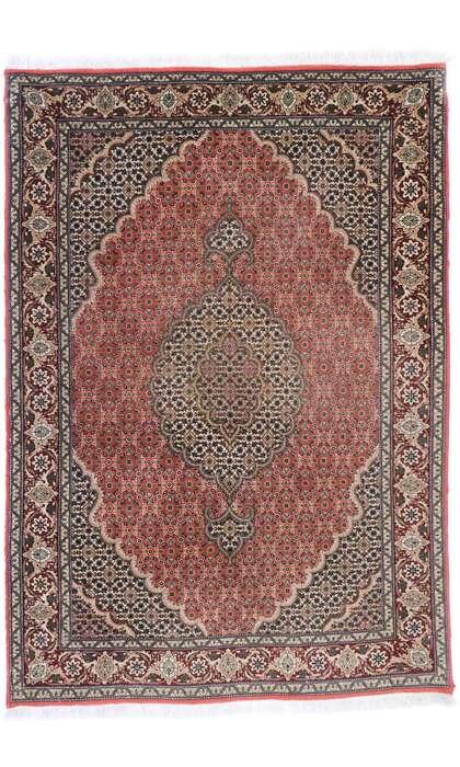 3 x 5 Vintage Persian Mahi Tabriz Rug 77794