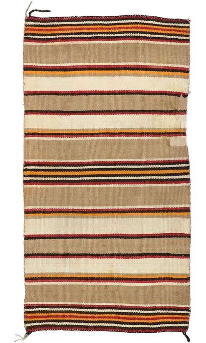 3 x 5 Vintage Navajo Kilim Rug 77846
