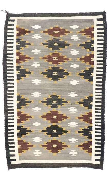 3 x 4 Vintage Navajo Kilim Rug 77869