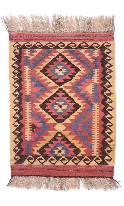 2 x 3 Vintage Afghani Kilim Rug 77882