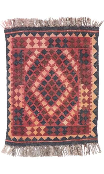 2 x 3 Vintage Afghani Kilim Rug 77883