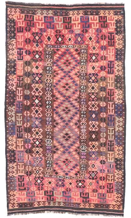 5 x 9 Vintage Afghani Kilim Rug 77928
